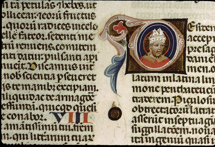 Paris, Bibl. Sainte-Geneviève, ms. 1177, f. 004