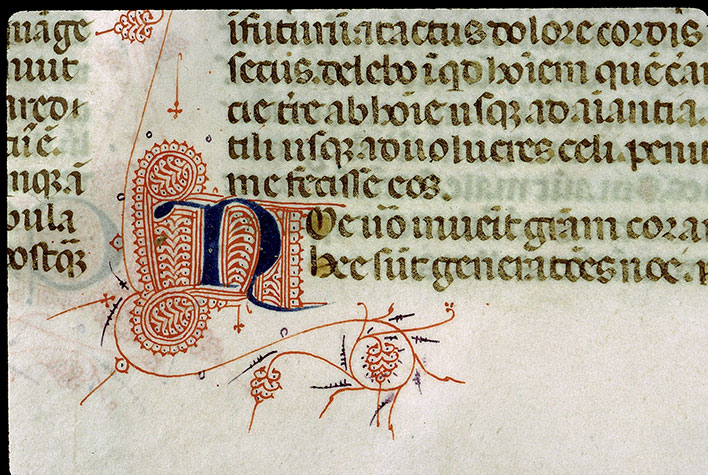 Paris, Bibl. Sainte-Geneviève, ms. 1177, f. 007v