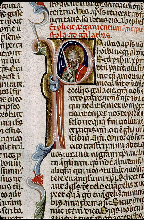 Paris, Bibl. Sainte-Geneviève, ms. 1177, f. 536v