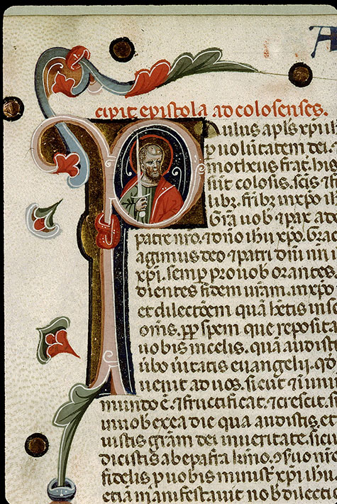 Paris, Bibl. Sainte-Geneviève, ms. 1177, f. 542v