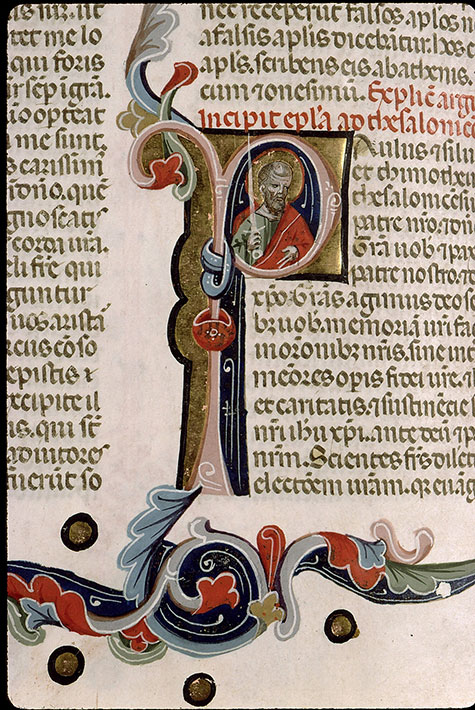 Paris, Bibl. Sainte-Geneviève, ms. 1177, f. 543v