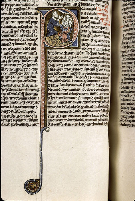 Paris, Bibl. Sainte-Geneviève, ms. 1180, f. 106v