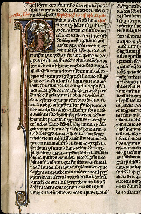 Paris, Bibl. Sainte-Geneviève, ms. 1180, f. 345