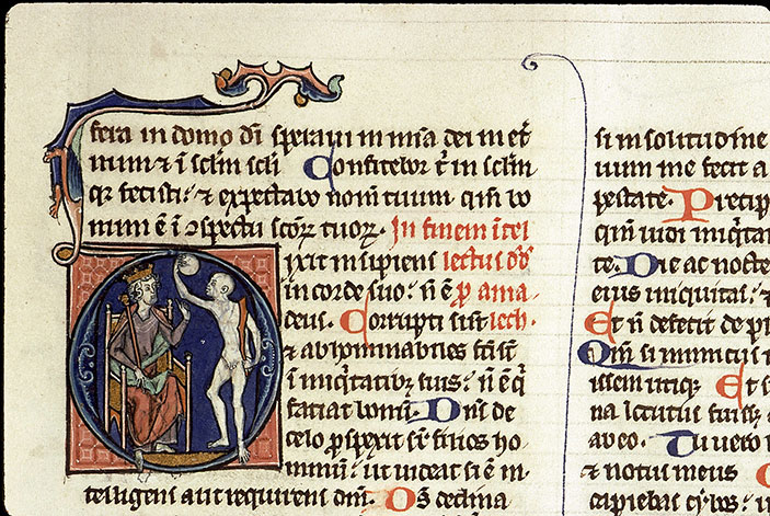 Paris, Bibl. Sainte-Geneviève, ms. 1181, f. 184v