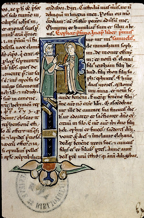Paris, Bibl. Sainte-Geneviève, ms. 1182, f. 103