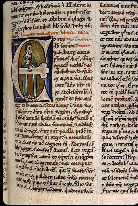 Paris, Bibl. Sainte-Geneviève, ms. 1182, f. 124
