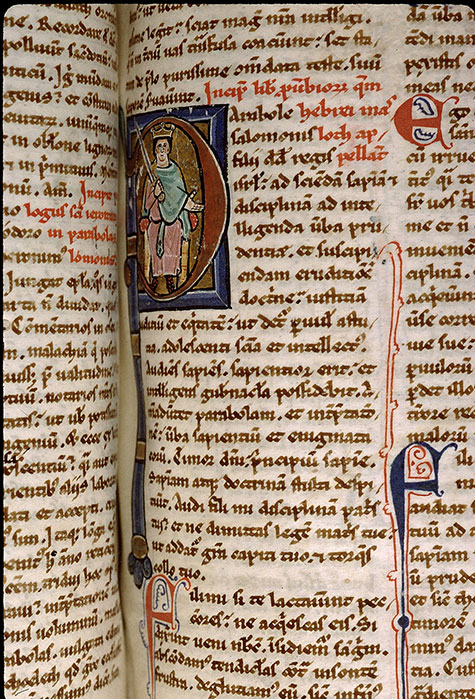 Paris, Bibl. Sainte-Geneviève, ms. 1182, f. 221