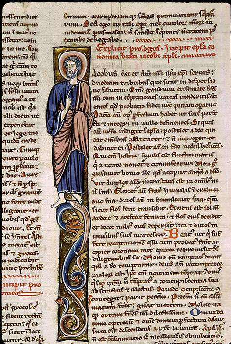 Paris, Bibl. Sainte-Geneviève, ms. 1185, f. 308