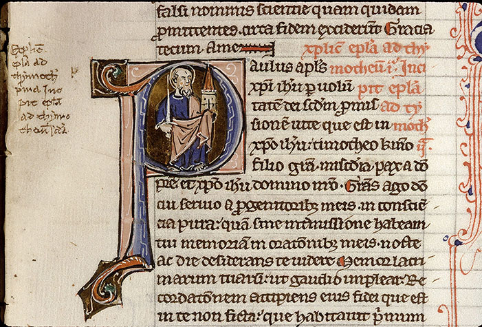 Paris, Bibl. Sainte-Geneviève, ms. 1187, f. 110