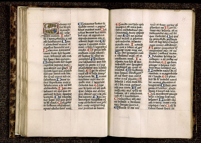 Paris, Bibl. Sainte-Geneviève, ms. 1263, f. 038v-039