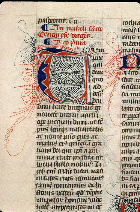 Paris, Bibl. Sainte-Geneviève, ms. 1264, f. 143v