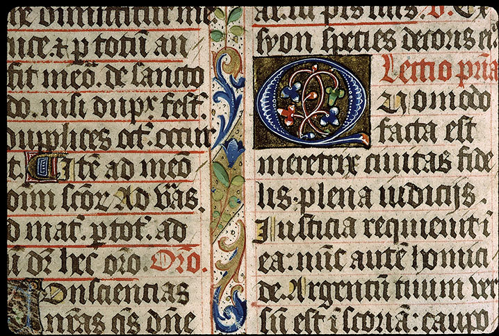Paris, Bibl. Sainte-Geneviève, ms. 1265, f. 008v