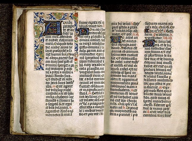Paris, Bibl. Sainte-Geneviève, ms. 1265, f. 019v-020