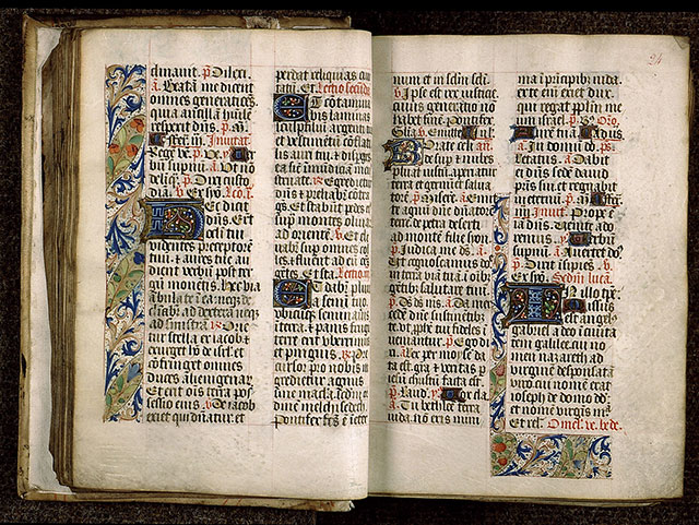 Paris, Bibl. Sainte-Geneviève, ms. 1265, f. 023v-024