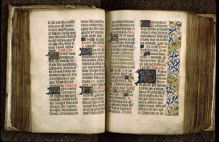 Paris, Bibl. Sainte-Geneviève, ms. 1265, f. 091v-092