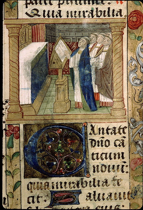 Paris, Bibl. Sainte-Geneviève, ms. 1265, f. 281