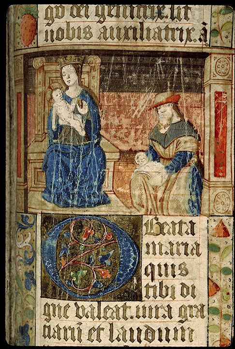 Paris, Bibl. Sainte-Geneviève, ms. 1265, f. 338