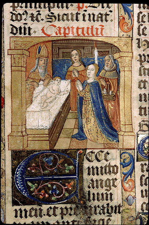Paris, Bibl. Sainte-Geneviève, ms. 1265, f. 388v