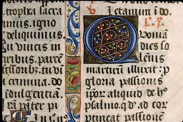 Paris, Bibl. Sainte-Geneviève, ms. 1265, f. 431