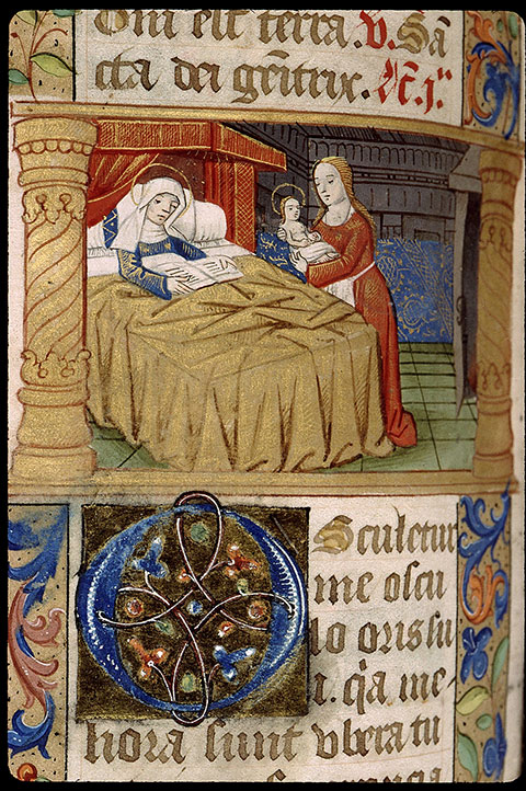 Paris, Bibl. Sainte-Geneviève, ms. 1266, f. 390v