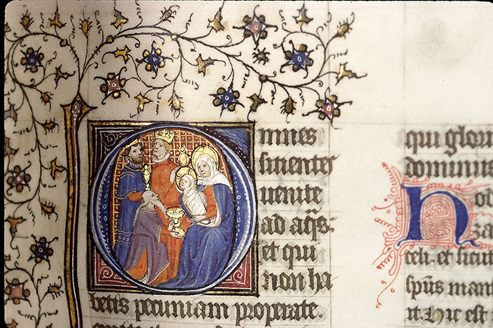 Paris, Bibl. Sainte-Geneviève, ms. 1267, f. 095