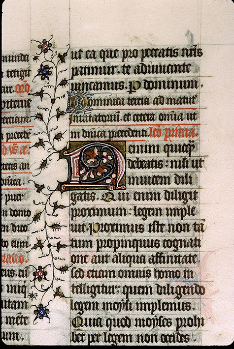 Paris, Bibl. Sainte-Geneviève, ms. 1267, f. 129