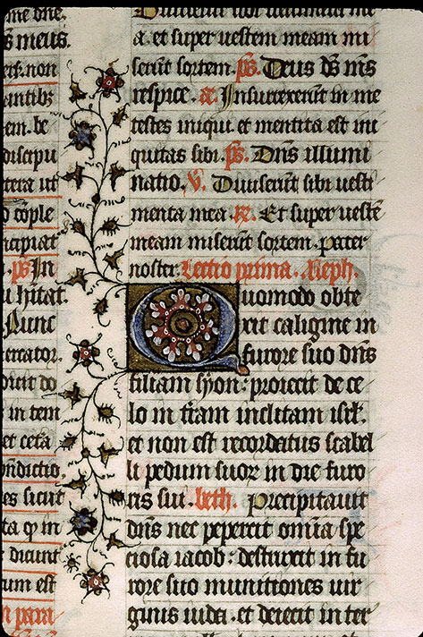 Paris, Bibl. Sainte-Geneviève, ms. 1267, f. 206