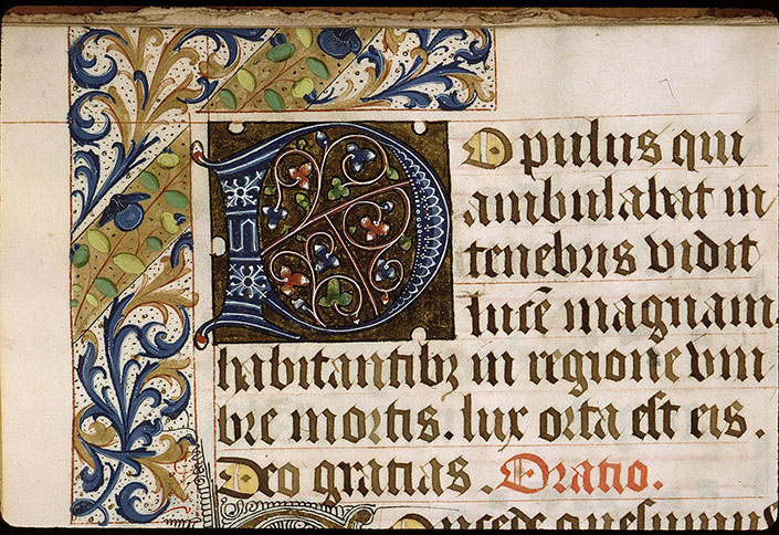 Paris, Bibl. Sainte-Geneviève, ms. 1272, f. 003v