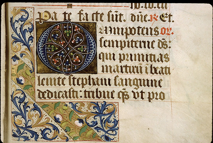 Paris, Bibl. Sainte-Geneviève, ms. 1272, f. 006