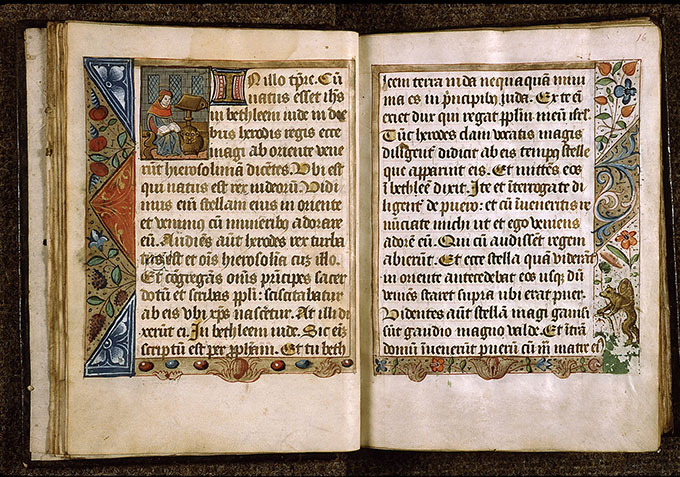 Paris, Bibl. Sainte-Geneviève, ms. 1275, f. 015v-016