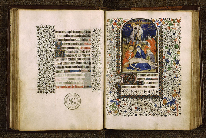 Paris, Bibl. Sainte-Geneviève, ms. 1278, f. 044v-045