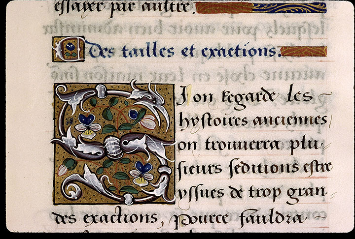 Paris, Bibl. Sainte-Geneviève, ms. 2217, f. 108
