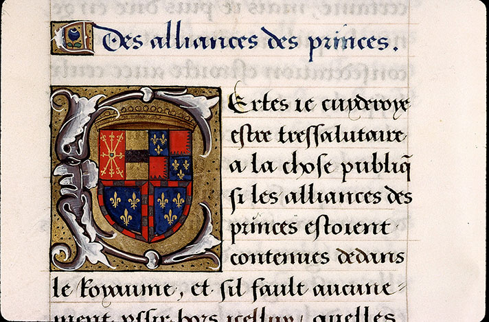 Paris, Bibl. Sainte-Geneviève, ms. 2217, f. 145v