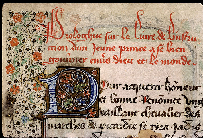 Paris, Bibl. Sainte-Geneviève, ms. 2218, f. 004v