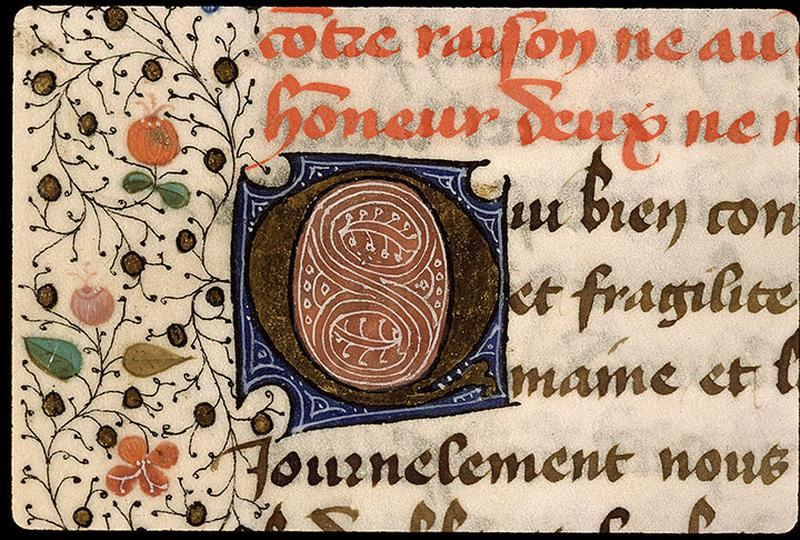 Paris, Bibl. Sainte-Geneviève, ms. 2218, f. 033v