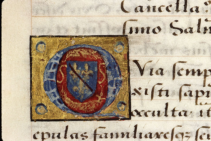 Paris, Bibl. Sainte-Geneviève, ms. 2221, f. 002