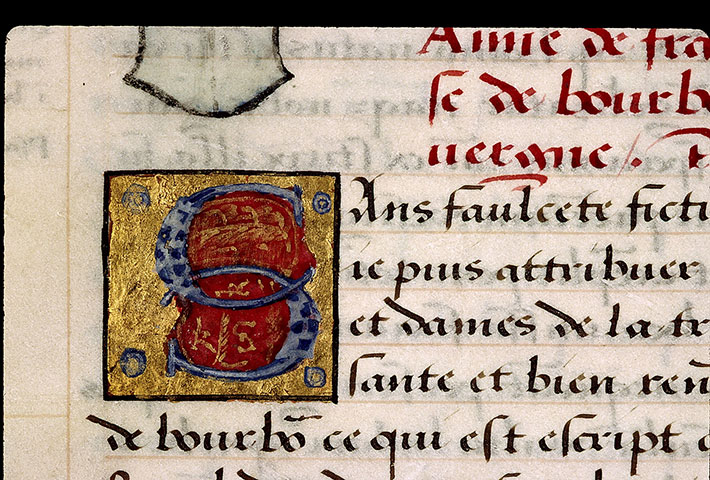 Paris, Bibl. Sainte-Geneviève, ms. 2221, f. 003v