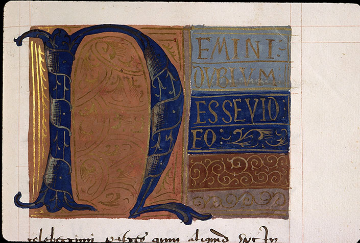 Paris, Bibl. Sainte-Geneviève, ms. 2413, f. 100
