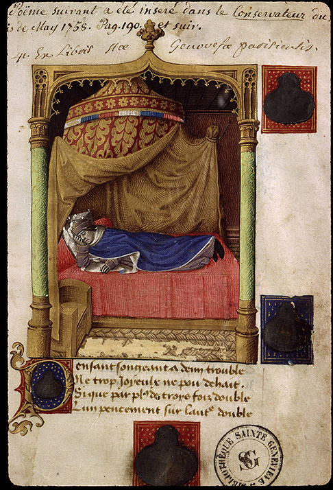 Paris, Bibl. Sainte-Geneviève, ms. 2444, f. 003