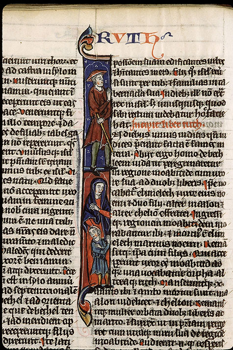 Paris, Bibl. Sainte-Geneviève, ms. 2585, f. 124v