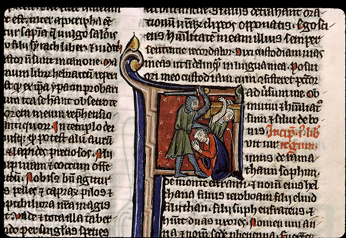 Paris, Bibl. Sainte-Geneviève, ms. 2585, f. 127