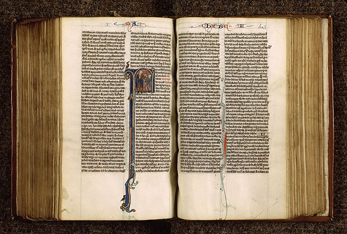 Paris, Bibl. Sainte-Geneviève, ms. 2585, f. 402v-403