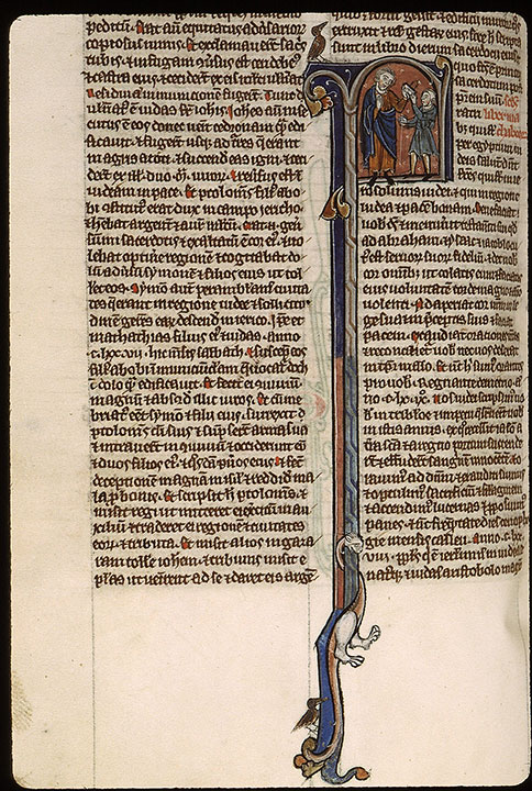 Paris, Bibl. Sainte-Geneviève, ms. 2585, f. 402v