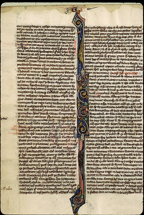 Paris, Bibl. Sainte-Geneviève, ms. 2587, f. 003v