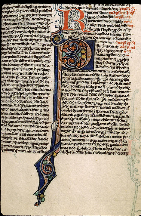 Paris, Bibl. Sainte-Geneviève, ms. 2587, f. 376