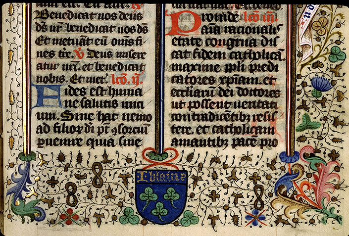 Paris, Bibl. Sainte-Geneviève, ms. 2631, f. 242
