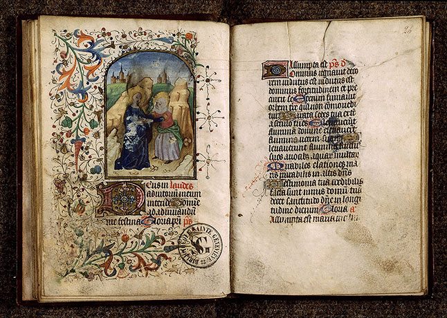 Paris, Bibl. Sainte-Geneviève, ms. 2683, f. 025v-026