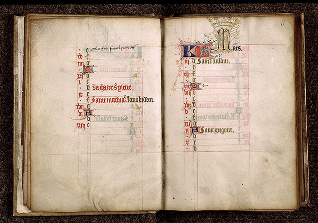 Paris, Bibl. Sainte-Geneviève, ms. 2698, f. 010v-011