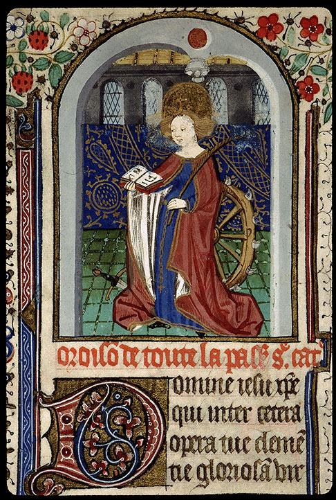 Paris, Bibl. Sainte-Geneviève, ms. 2698, f. 108v