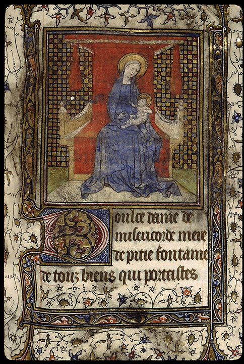 Paris, Bibl. Sainte-Geneviève, ms. 2701, f. 165